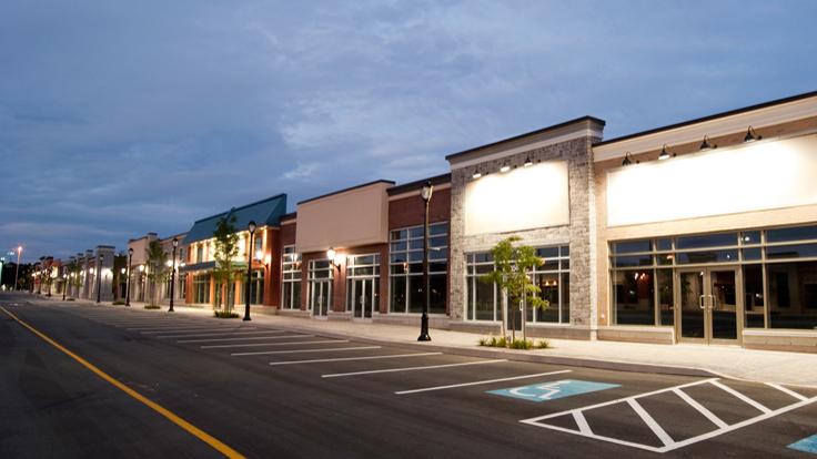 Florida Strip Mall